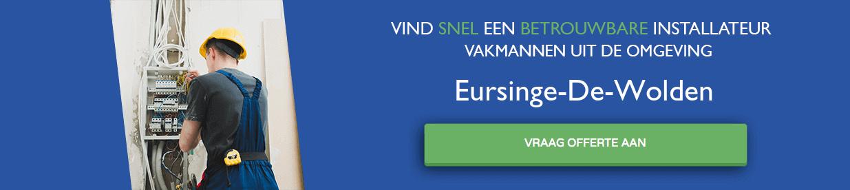 warmtepomp installateurs Eursinge-De-Wolden