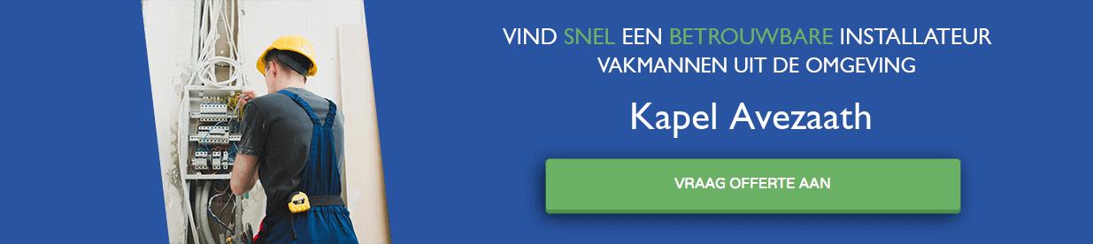 warmtepomp installateurs Kapel Avezaath