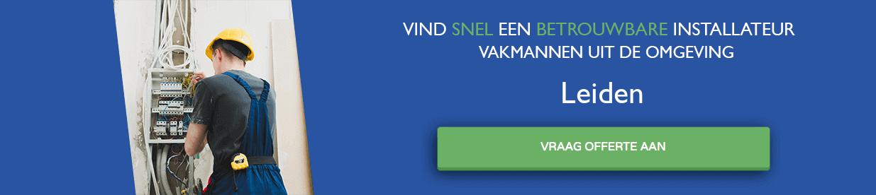 warmtepomp installateurs Leiden