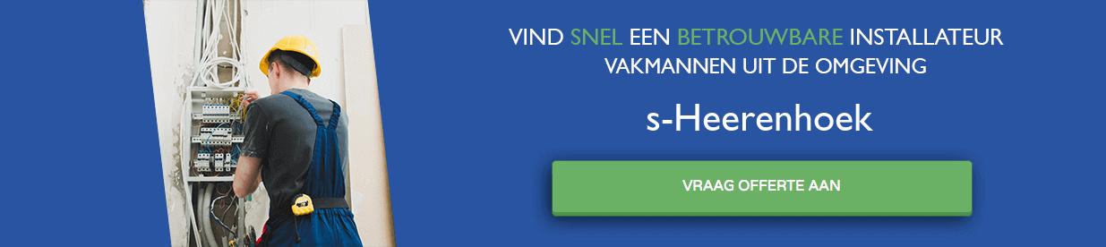 warmtepomp installateurs s-Heerenhoek