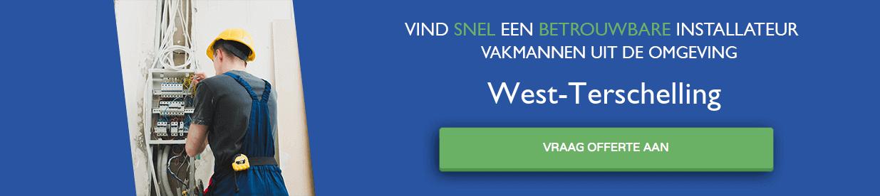 warmtepomp installateurs West-Terschelling