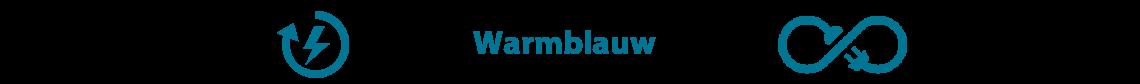 Warmblauw warmtepomp
